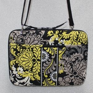 Vera Bradley hard laptop/tablet case with strap